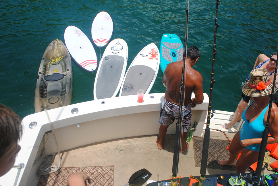 75 ft. Hatteras - Power Yacht - Up to 40 People - water toys